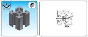 T-Slot-Aluminum-Profile-20x20-Serial-5-800mm-Profil-Extrusion-Extruded-2020