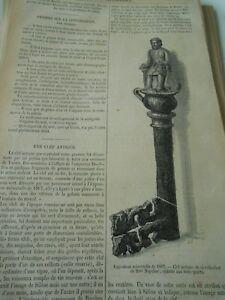 Charmant Une Clef Antique Gravure Antique Print 1867 Les Produits Sont Disponibles Sans Restriction
