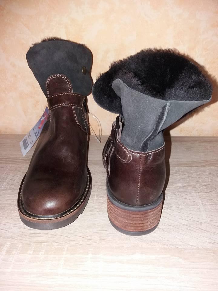 Werner botín nuevo nuevo nuevo en marrón oscuro & napa con cordero 1ef1ce
