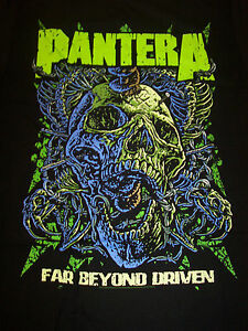 Pantera Far Beyond Driven Skull Officially Licensed T Shirt New Ebay