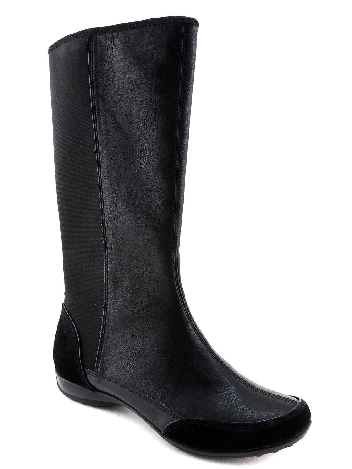 Giani Bernini para mujer Cádiz mitad de la pantorrilla botas botas botas de cuero negro Tamaño 8.5 M  Envío y cambio gratis.