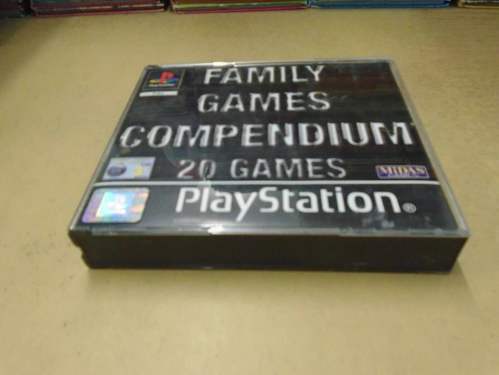 PS1 PLAYSTATION 1 PSone Family Games Compendium 20 GAMES ON 3 CD's FAT BOX