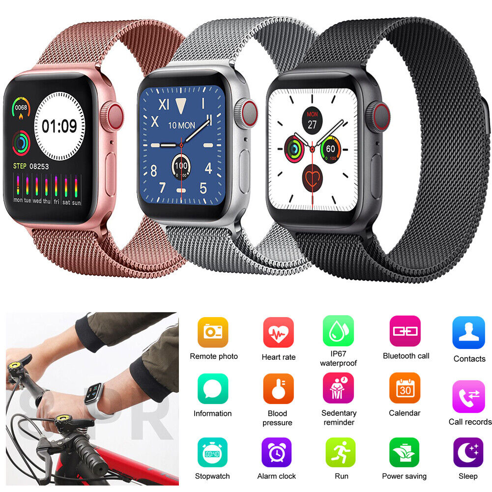 Heart Rate Blood Pressure Smart Watch Fitness Tracker Sports Band Bracelet New band blood fitness heart pressure rate smart sports tracker watch