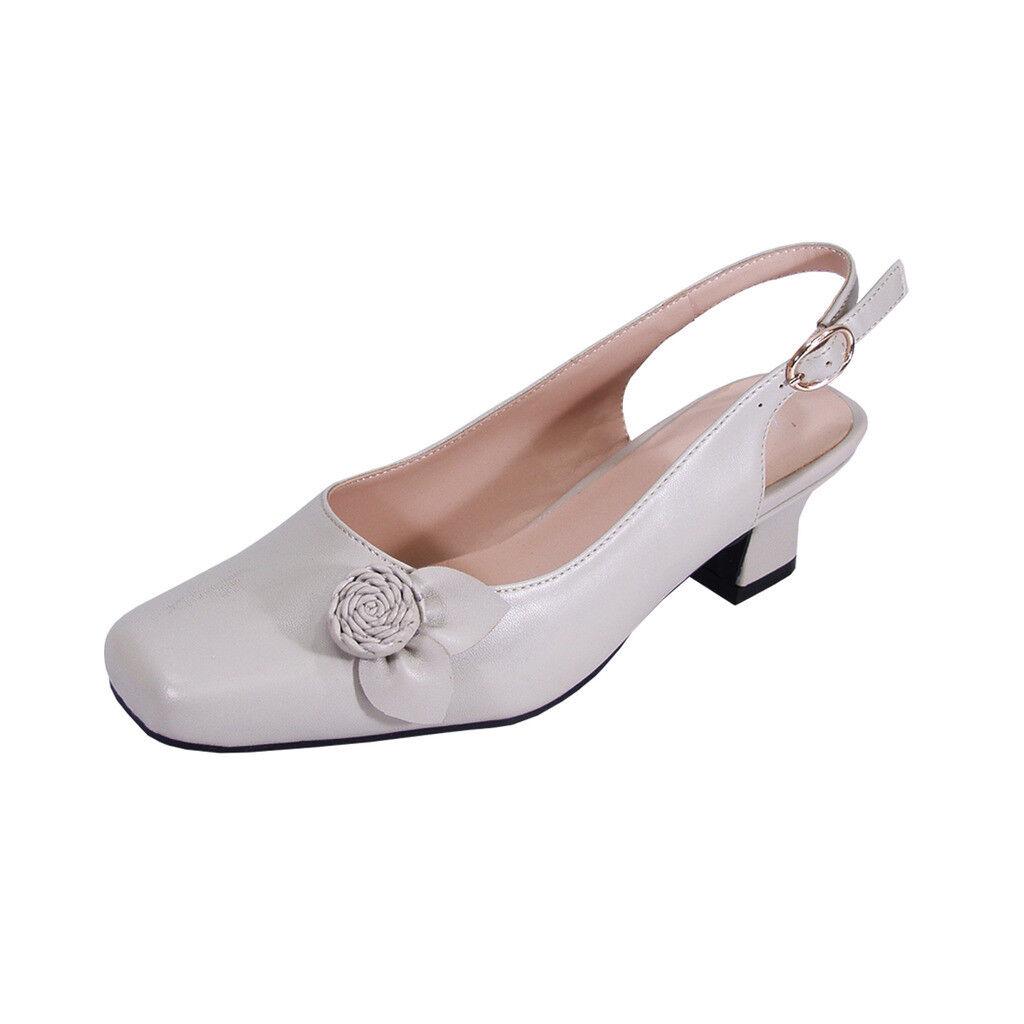 PEERAGE Cheryl Women Women Women Wide Width Slingback Comfort Dress Low Heel shoes e59a7d
