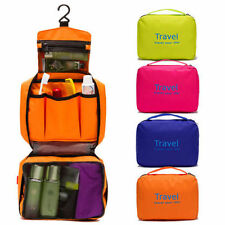 Folding Travel Storage Toiletry Wash Organizer Pouch Cosmetic Makeup Hanging Bag