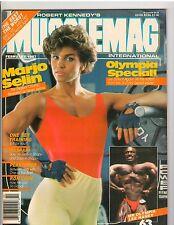 MUSCLEMAG bodybuilding fitness magazine/Marjo Selin/Lee Haney 2-87 #63