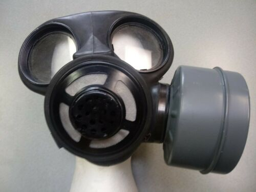 NEW Canadian Military Surplus C3 Gas Mask Respirator Size Medium NEW UNISSUED