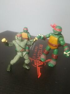 1992 Foot Clan Mirage Toy Tmnt Raphael 2012 2013 Teenage Mutant
