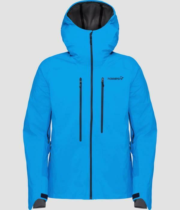 Norrona M's Lyngen Windstopper Hybrid Jacket hot sapphire Gr.L   NEUWARE