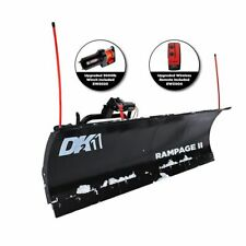 Detail K2 Rampage II 82 in. x 19 in. Custom Mount Snow Plow Kit RAMP8219