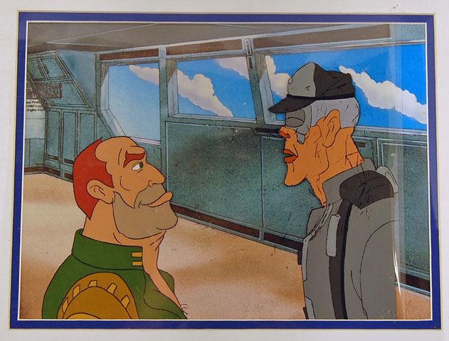 Star Wars Droids Cartoon Cel Admiral Screed & Govoner Koong Large Images