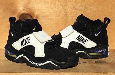 VTG 1995 Nike Air Turmoil Mid Turf Chris Carter Vikings NOT WEARABLE Size 9.5 | eBay