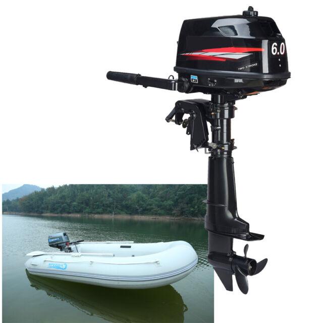 Water Cooling Cdi System 6 0 Hp 2 Stroke Outboard Motor Tiller Shaft Boat Engine For Sale Online