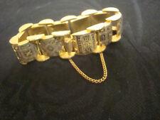 Toledo Spain Vtg 50's Damascene Bracelet.