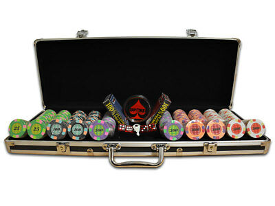 TDPOKER Malet/ín de Poker Profesional European 300 Fichas