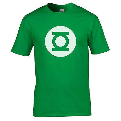 Green Lantern Mens Big Bang Theory Tshirt Sheldon Cooper Men's Unisex T-shirt