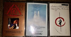 LOT OF 3 ANDREAS VOLLENWEIDER CASSETTE TAPES TRILOGY WHITE WINDS DANCING LION