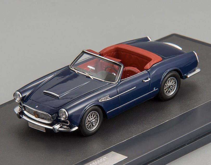 Maserati 3500 GT Spider Vignale 1959 bleu mx41311-081  matrice 1 43 nouveau in a Box  vente d'usine en ligne discount