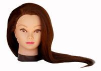 Usa Seller 26 Cosmetology Mannequin Head 100% Human Hair (usa Seller)