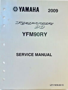 image is loading genuine-yamaha-yfm90ry-raptor-90-service-manual-wiring-