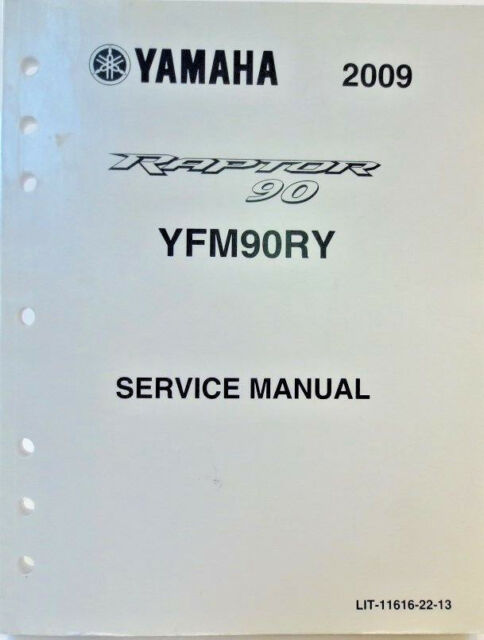 Genuine Yamaha Yfm90ry Raptor 90 Service Manual Wiring