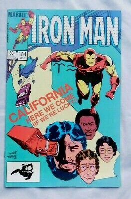 Iron Man #184 ~ NEAR MINT NM ~ 1984 MARVEL COMICS