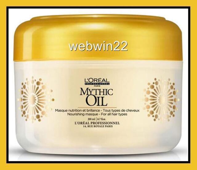 L'OREAL MYTHIC OIL Nourishing Masque mask Intense hair treatment 200ml salon