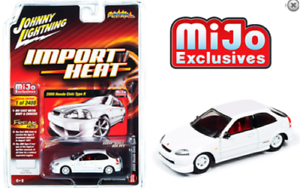 2000-HONDA-CIVIC-WHITE-IMPORT-HEAT-MIJO-2400-MADE-1-64-JOHNNY-LIGHTNING-JLCP7310