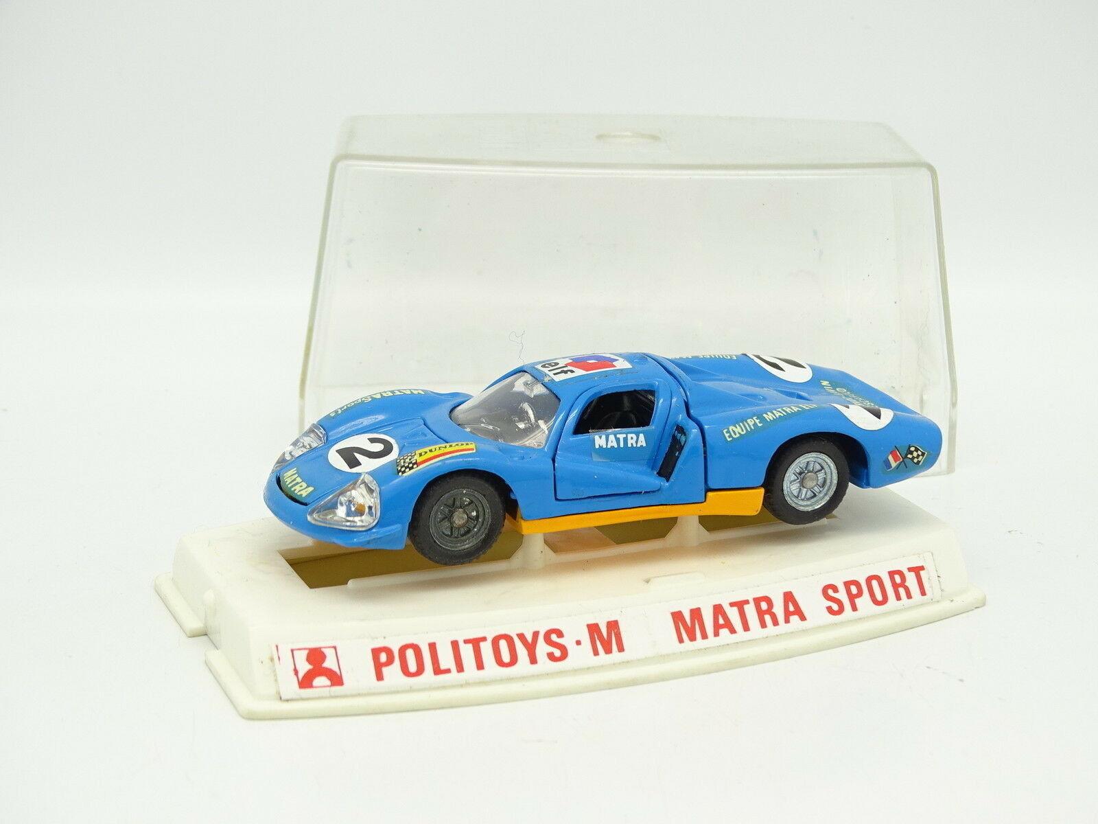 PoliJuguetes 1 43 - Matra Sports 630 N° 2 Le Mans N º