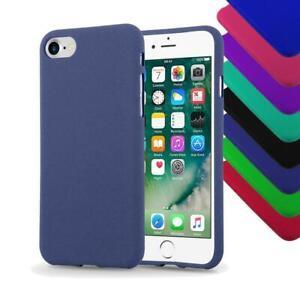 Custodia-per-Apple-Coperchio-di-protezione-Matt-colori-Paraurti-in-Silicone-Antiurto