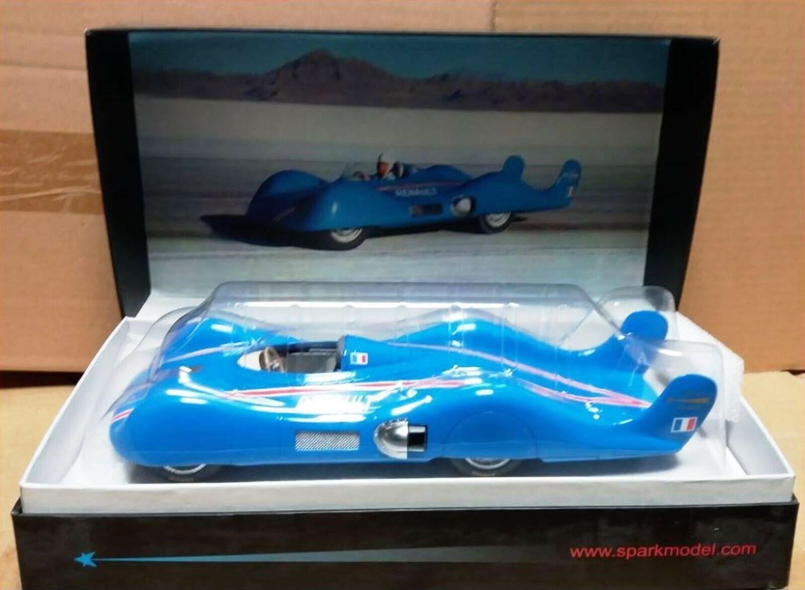 WOW EXTREMELY RARE Renault Étoile Filante Hébert Record 1956 Resin 1 18 Spark