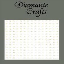 225 x 2mm Ivory Pearl Self Adhesive Rhinestone Body Nail Vajazzle Gems