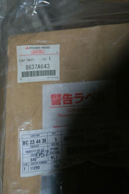 Mitsubishi Colt Steuergerät A4545450032 Servolenkung MR594091 12 Monate Garantie