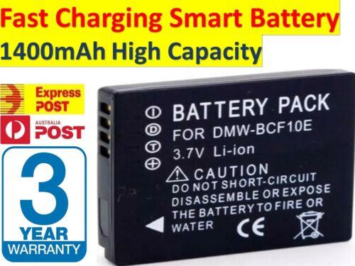 Batería para Panasonic DMW-BCF10E DMW-BCF10PP CGA-S//106B CGA-S//106C CGA-S//106D