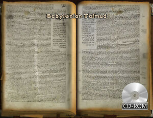 Babylonian-Talmud-the-only-surviving-manuscript-1342-AD-Hebrew