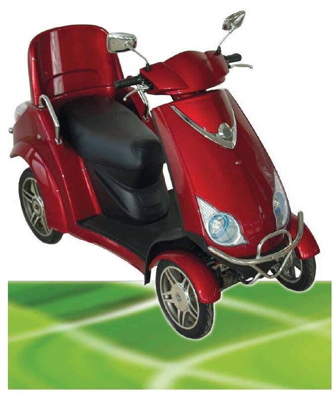 500W ElektroMobil Boco bis 15 km km km h SeniorenMobil ElektroScooter ZWEISITZER 37cc75