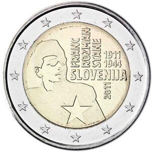 Slowenien-2-Euro-2011-Franc-Rozman-Stane-Gedenkmuenze-bankfrisch
