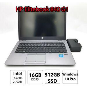 HP-EliteBook-840-Portable-Ultrabook-Laptop-i7-4600u-16GB-DDR3-512GB-SSD-14-inch