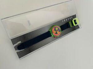 VARIANTE Original Swatch Chrono GRAND PRIX new PRADÈ gekauft 1992 in LONDON