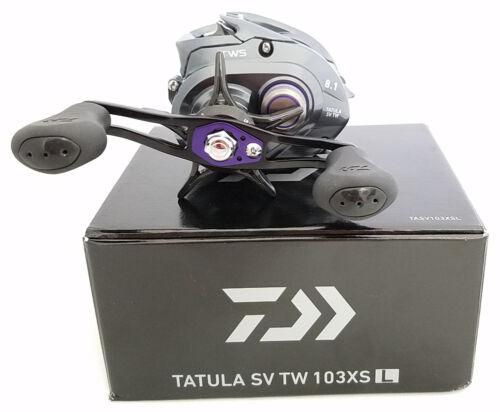 Daiwa Tatula SV TWS 103 Baitcasting Fishing Reels Left /& Right Hand Retrieve