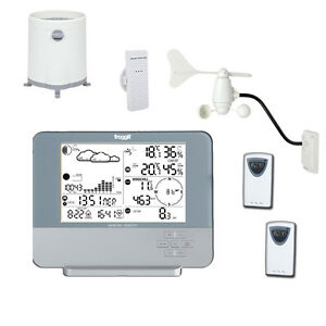 Profi Funk Wetterstation WS8700 SlimLine inkl. 3 Thermo-Hygrosensoren (PC)
