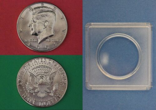 1991 D John Kennedy Half Dollar With 2x2 Snap from Mint Set Combined Shipping