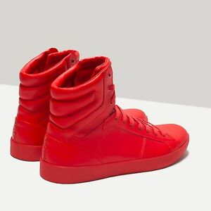 Zara Red Patent Shoes