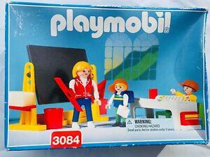 Vintage Playmobil 3084 Classroom school Teacher Students ...