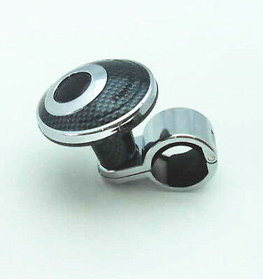 Carbon Steering Wheel Knob Auxliary Spinner Knob/Handle Boost Aid for vechiles