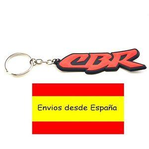 Motocicleta-De-Goma-Llavero-HONDA-CBR-Rojo-Regalo-moto-600-1000