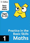 Collins Practice in the Basic Skills: Maths Book 1 by HarperCollins Publishers (Paperback, 2012)