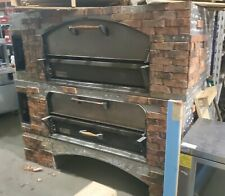 Used Marsal Mb60 Brick Lined Gas Double Deck Pizza Bread Oven