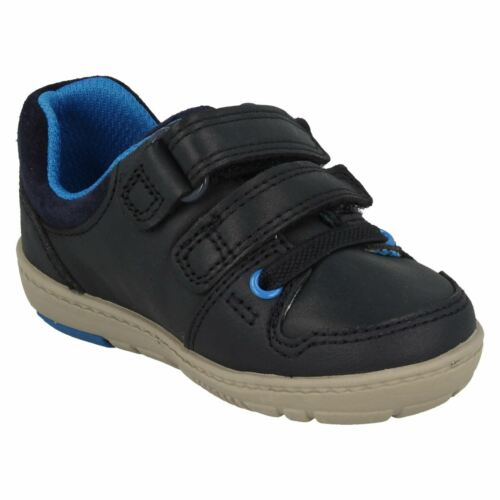 CLARKS Tolby Boo Infant Boys Leather First Shoe