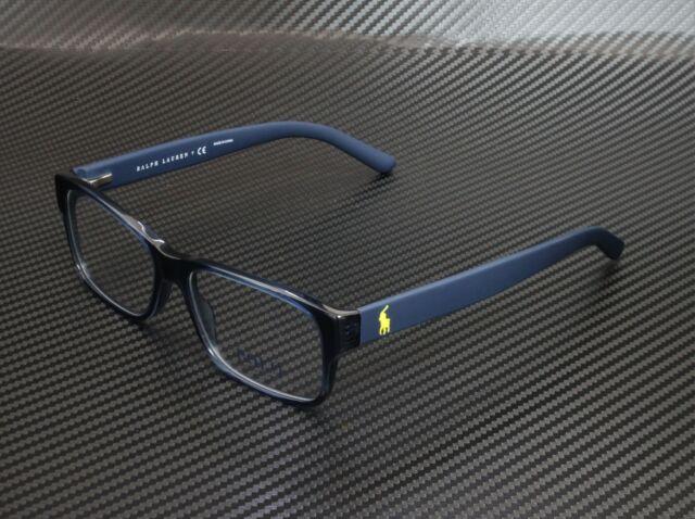 Polo Mens PH2115 Eyeglasses Shiny Black 52mm